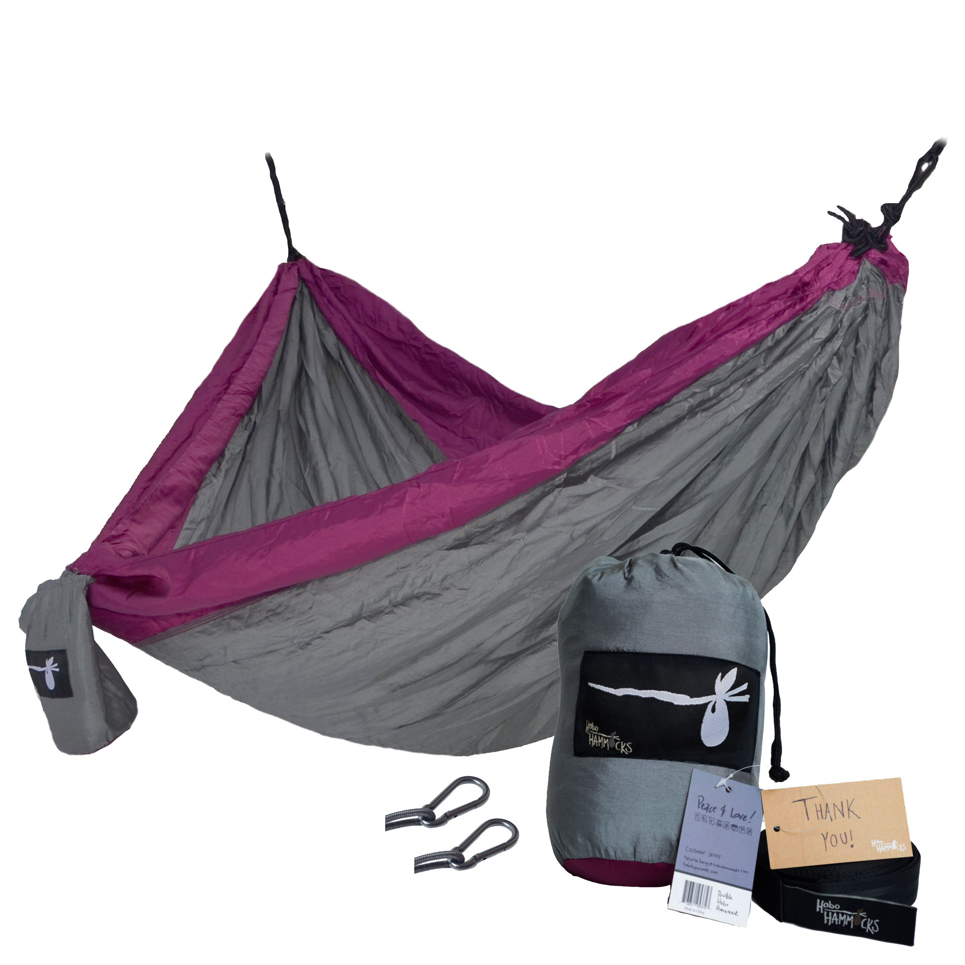 purple hammock double  gray purple hammock   purple people eater   hobo hammocks  rh   hobohammocks