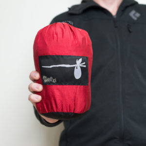 Black and Red Hammock