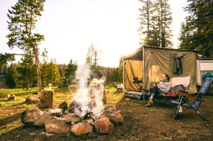 How to be a Safe Campfire Starter - Hobo Hammocks