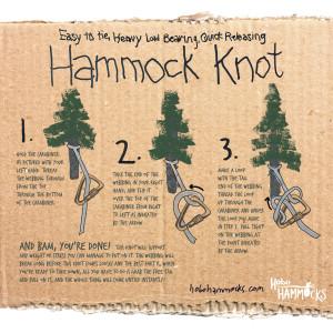 How to Hang | Hammock Knot