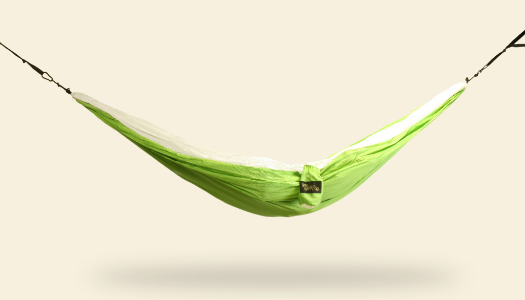 White and Green Hammock