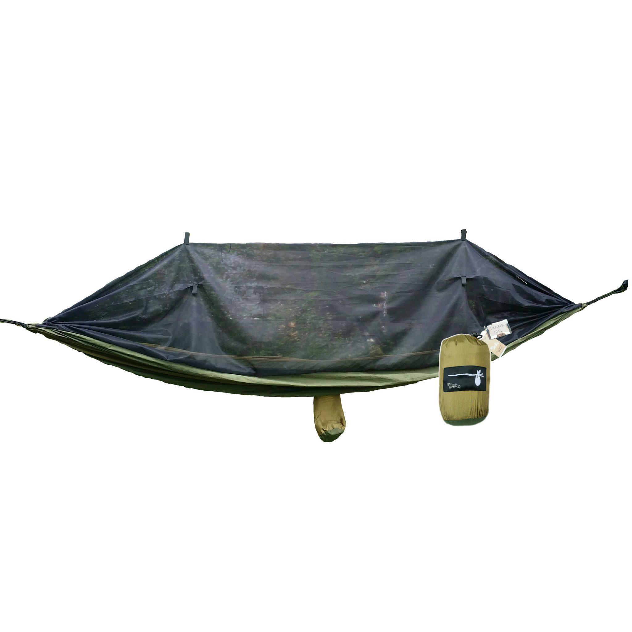 Double Skeeto Shield Mosquito Net Hammock Hobo Hammocks