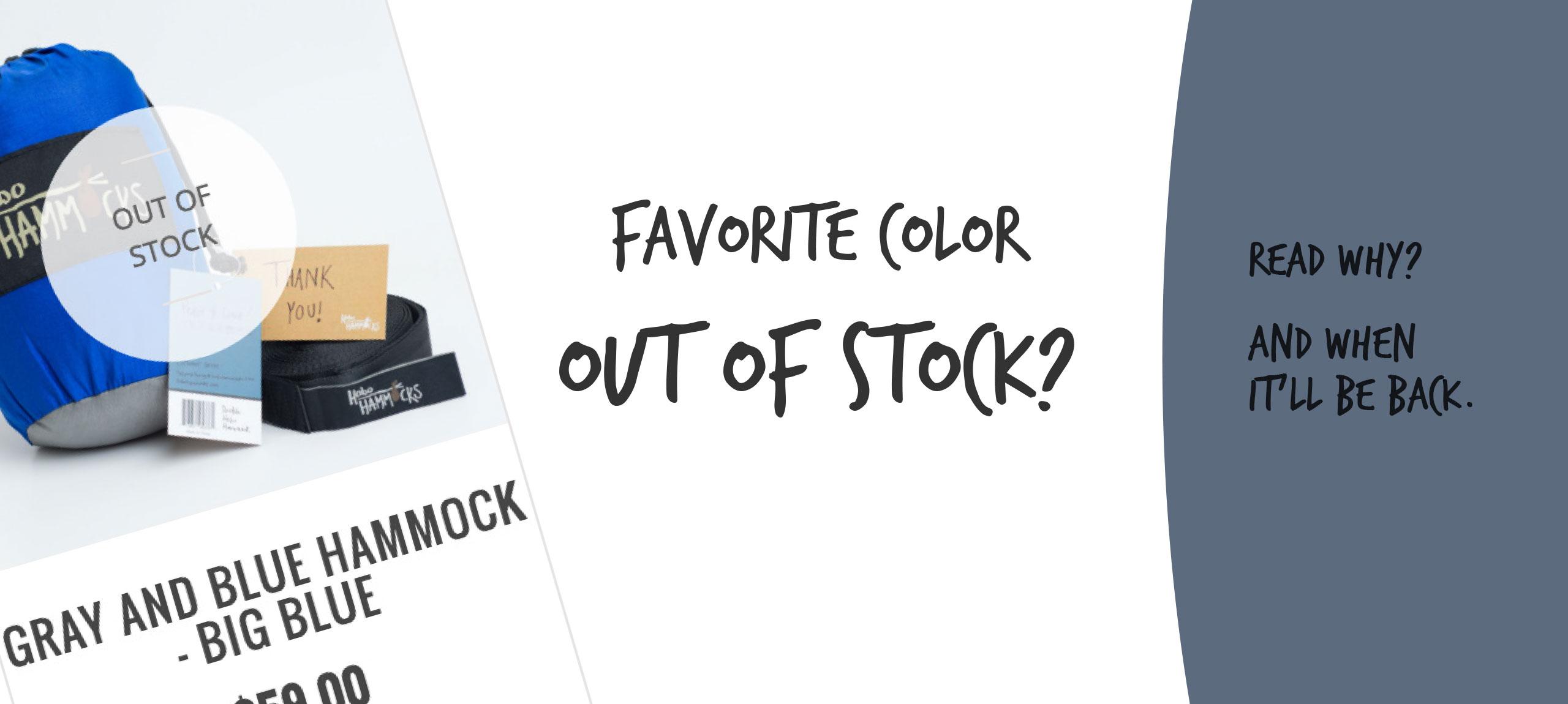 Stock Hammock
